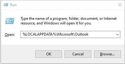 delete and recreate OST file