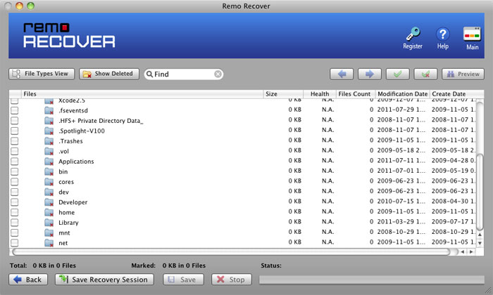 Recovered files from SD card on Mac using SD Card Recovery tool