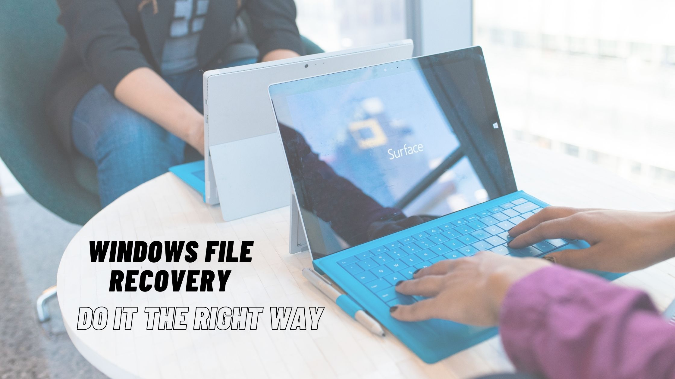 recover deleted files from Windows